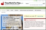 TheyWorkForYou.com screenshot