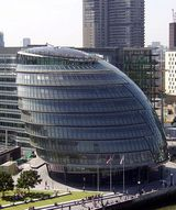 City Hall, home to the Greater London Authority